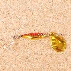 Блесна вращающаяся DAIWA Silver Creek Spinner Z 1040C H-Red/Gold (0441)