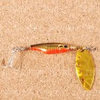 Блесна вращающаяся DAIWA Silver Creek Spinner Z 1060 H-Black/Gold (0402)
