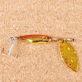 Silver Creek Spinner Z 1060 H-Red/Gold (0401)