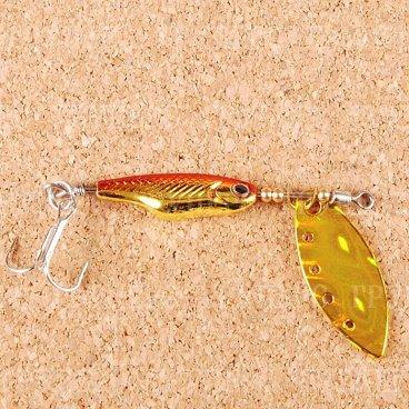 Блесна вращающаяся DAIWA Silver Creek Spinner Z 1060 H-Red/Gold (0401)