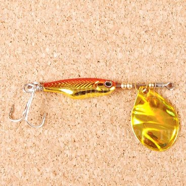 Блесна вращающаяся DAIWA Silver Creek Spinner Z 1060C H-Red/Gold (0451)