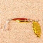 Блесна вращающаяся DAIWA Silver Creek Spinner Z 1090 H-Red/Gold (0421)
