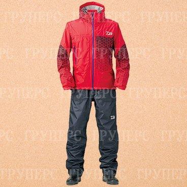 Костюм непромокаемый дышащий DAIWA RAINMAX  DR-3304 Lolli Pop Red 4XL