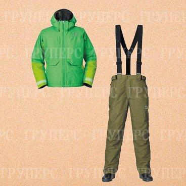 Костюм утеплённый непромокаемый дышащий DAIWA GORE-TEX GT Winter Suit Green XXXXL DW-1203