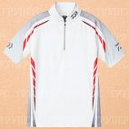 Рыболовная рубашка DAIWA Polo long sleeve Wicksensor DE-7604 White 2XL
