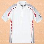 Рыболовная рубашка DAIWA Polo long sleeve Wicksensor DE-7604 White 4XL