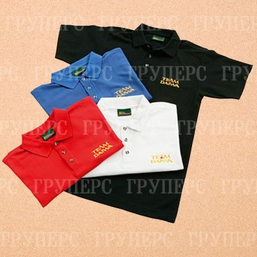 Рубашка поло белая Team Daiwa p XL