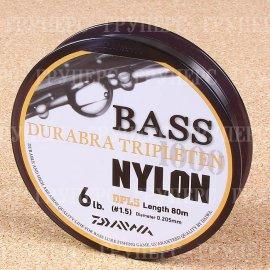 Bass Durabra Tripleten 1,5 6Lb( 0,205 мм ) 80м