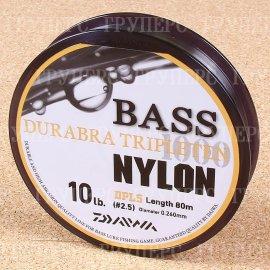 Bass Durabra Tripleten 2,5 10Lb( 0,260 мм ) 80м