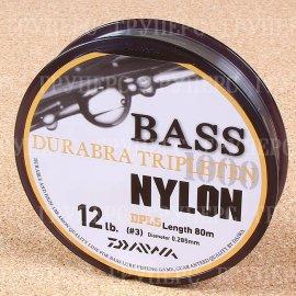 Bass Durabra Tripleten 3,0 12Lb( 0,285 мм ) 80м