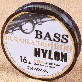 Bass Durabra Tripleten 4.0 16Lb( 0,330 мм ) 80м