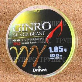 GINRO TRIPLE GANMA 1.85-100 зелено-желтая 0743