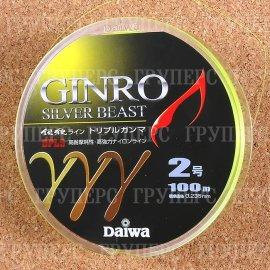 GINRO TRIPLE GANMA 2-100 зелено-желтая 0744