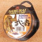Монолеска DAIWA Samurai SA-300C 18lb 0,35 мм ( 300м )