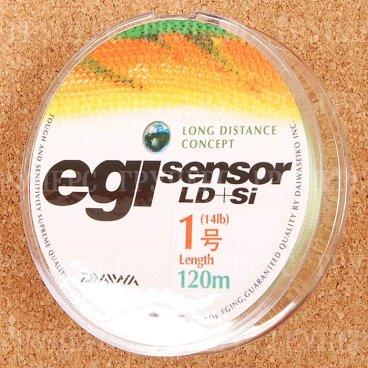 Плетеная леска DAIWA EGI Sensor LD + SI 1-120P 6,5kg ( 120м )