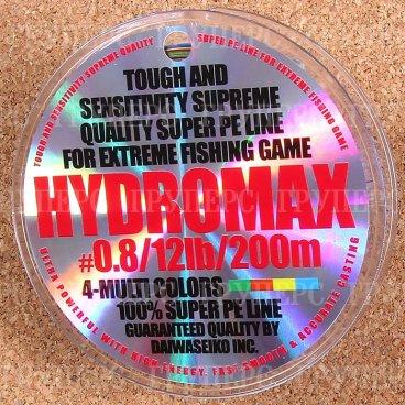 Плетёная леска Daiwa HYDROMAX 0.8-12-200