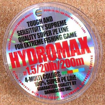 Плетёная леска Daiwa HYDROMAX 1.5-20-200