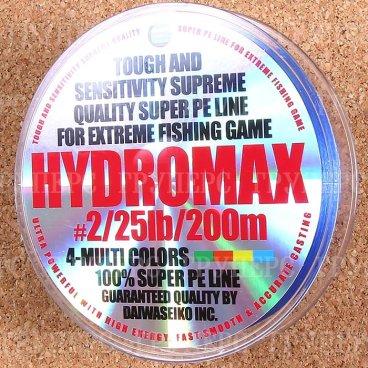 Плетёная леска Daiwa HYDROMAX 2-25-200