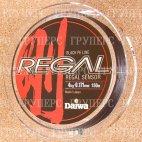 Плетеная леска DAIWA Regal Sensor -  4kg - 0.171мм - 150м (чёрная)