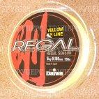 Плетеная леска DAIWA Regal Sensor -  5kg - 0.188мм - 150м (жёлтая)
