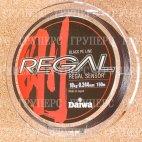Плетеная леска DAIWA Regal Sensor - 10kg - 0.244мм - 150м (чёрная)