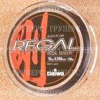Плетеная леска DAIWA Regal Sensor - 15kg - 0.299мм - 150м (чёрная)