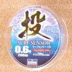 Плетеная леска DAIWA Surf Sensor + SI  0,6 (200m)