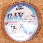 Плетеная леска DAIWA UVF Bay Jigging 6 Braid + SI 0,6-200 5,8kg ( 200м )