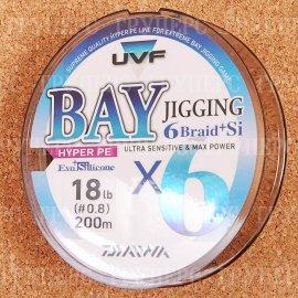 UVF Bay Jigging 6 Braid + SI 0,8-200 8,4kg ( 200м )