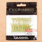 Резина съедобная DAIWA Tournament  Beam FISH 1,8 GREENTEA 5268