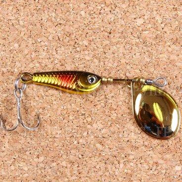 Блесна вращающаяся DAIWA Silver Creek Spinner R 1040 C / Kurokin (1503)