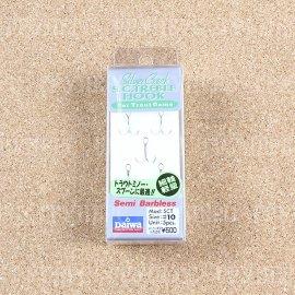 SC TH-Semi barbless №10 (5шт) тройники 5221