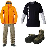 Одежда и обувь Daiwa